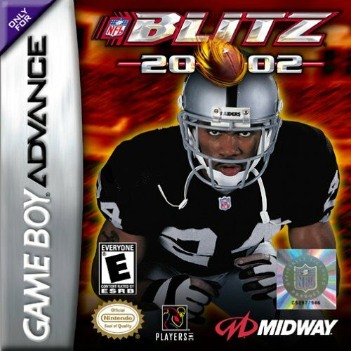 Caratula de NFL Blitz 20-02 para Game Boy Advance