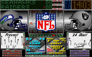 Pantallazo de NFL Video Pro Football para PC