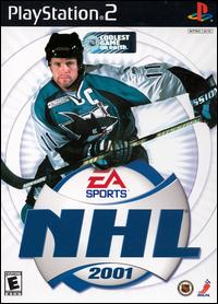 Caratula de NHL 2001 para PlayStation 2