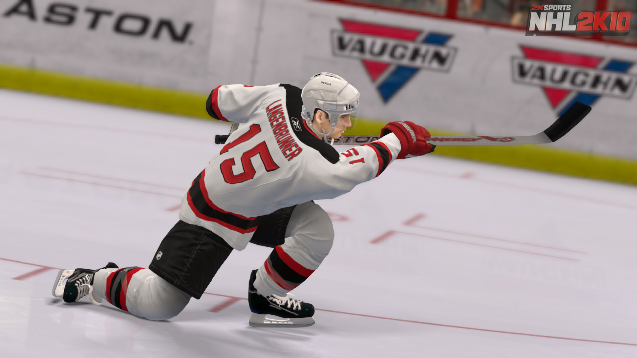 Pantallazo de NHL 2K10 para PlayStation 3