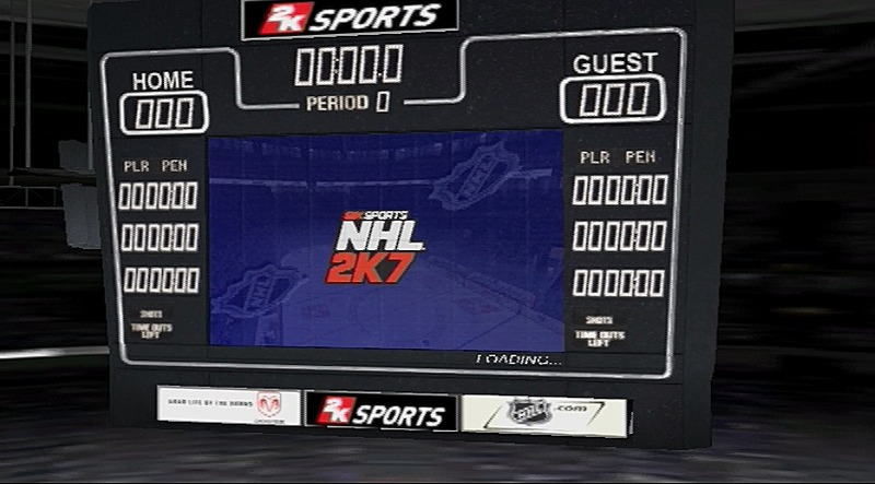 Pantallazo de NHL 2K7 para PlayStation 3