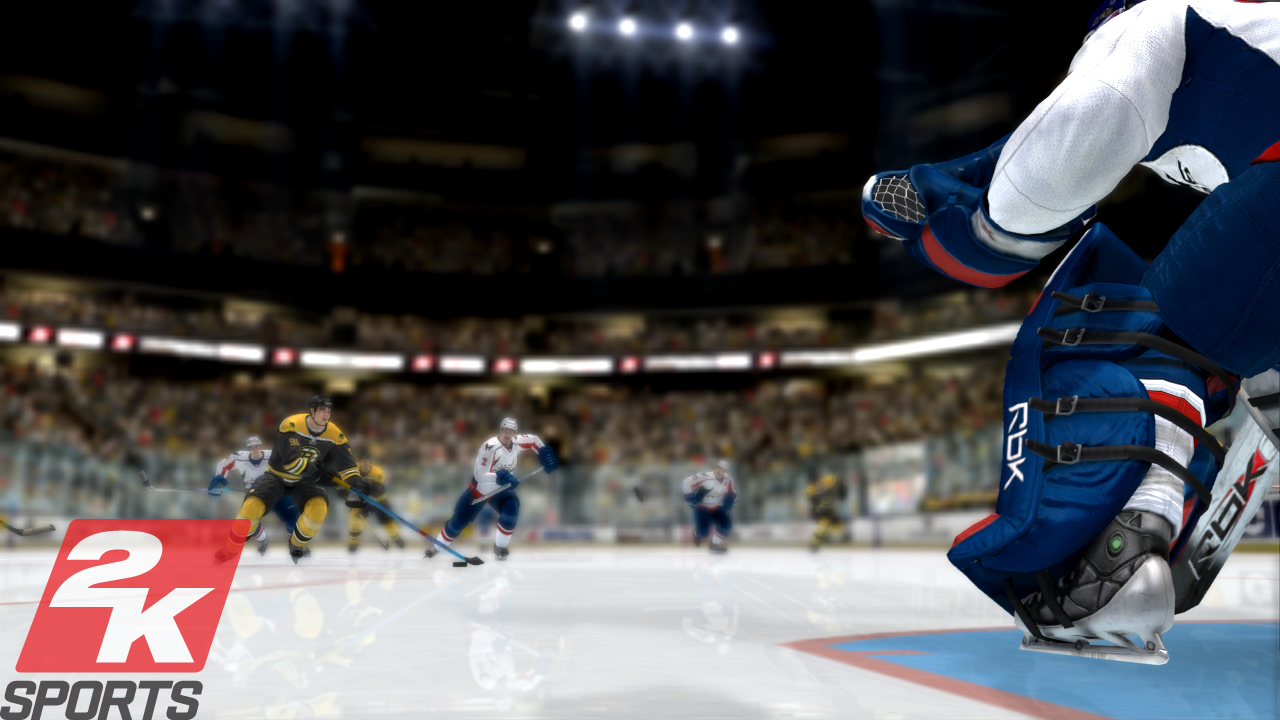 Pantallazo de NHL 2K8 para PlayStation 3