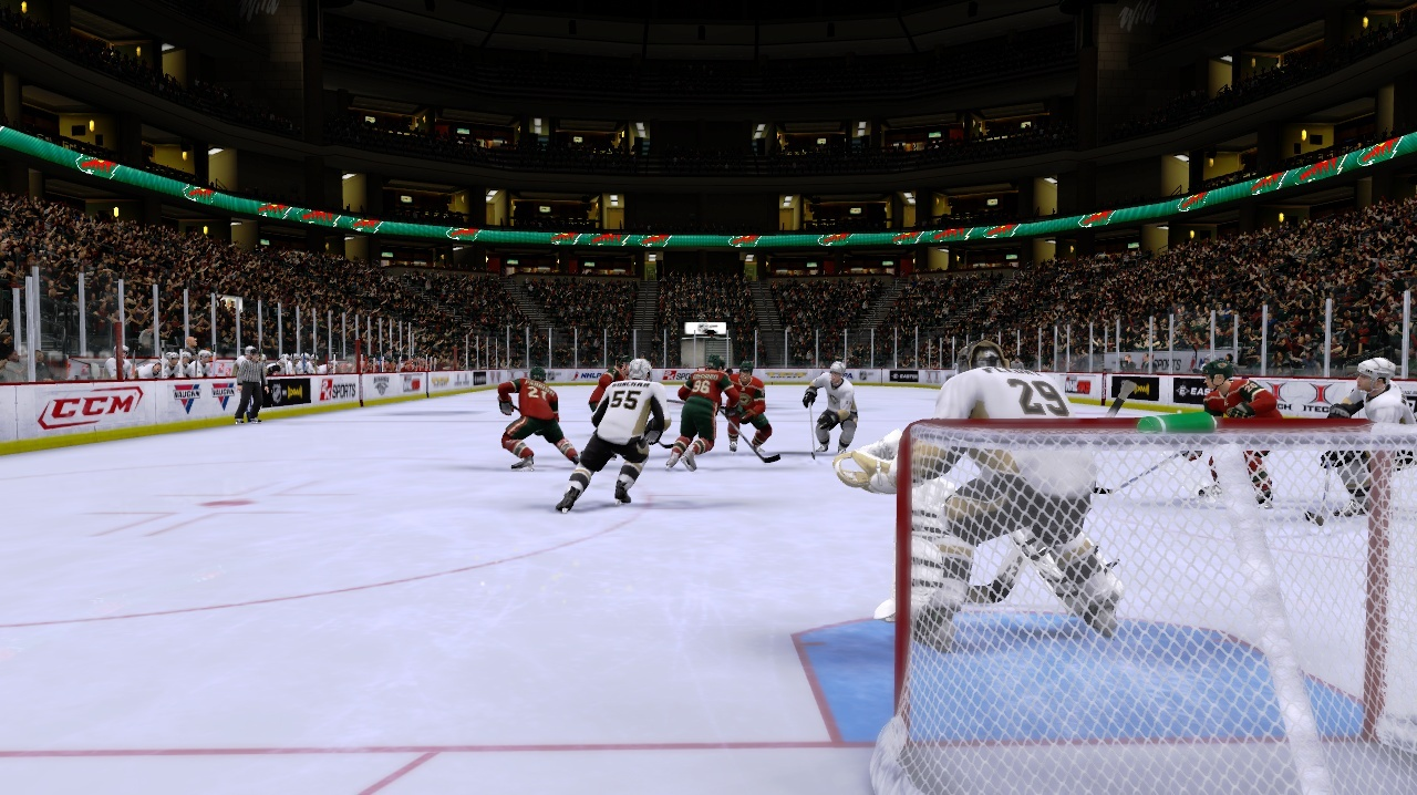 Pantallazo de NHL 2K9 para PlayStation 3