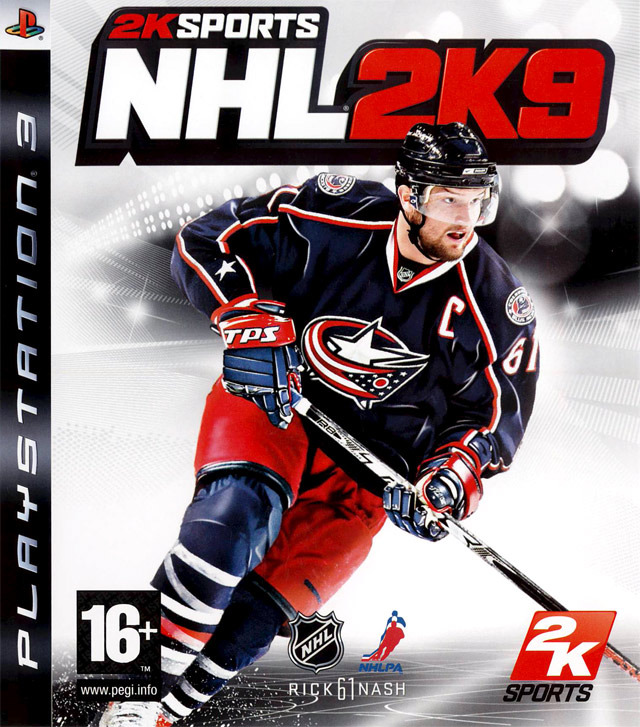 Caratula de NHL 2K9 para PlayStation 3