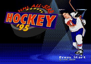 Pantallazo de NHL All-Star Hockey 95 para Sega Megadrive