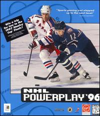Caratula de NHL Powerplay '96 para PC