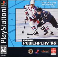 Caratula de NHL Powerplay 96 para PlayStation