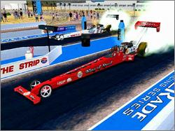 Pantallazo de NHRA Drag Racing: Top Fuel Thunder para PC
