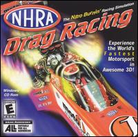 Caratula de NHRA Drag Racing [Jewel Case] para PC