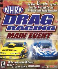Caratula de NHRA Drag Racing Main Event para PC