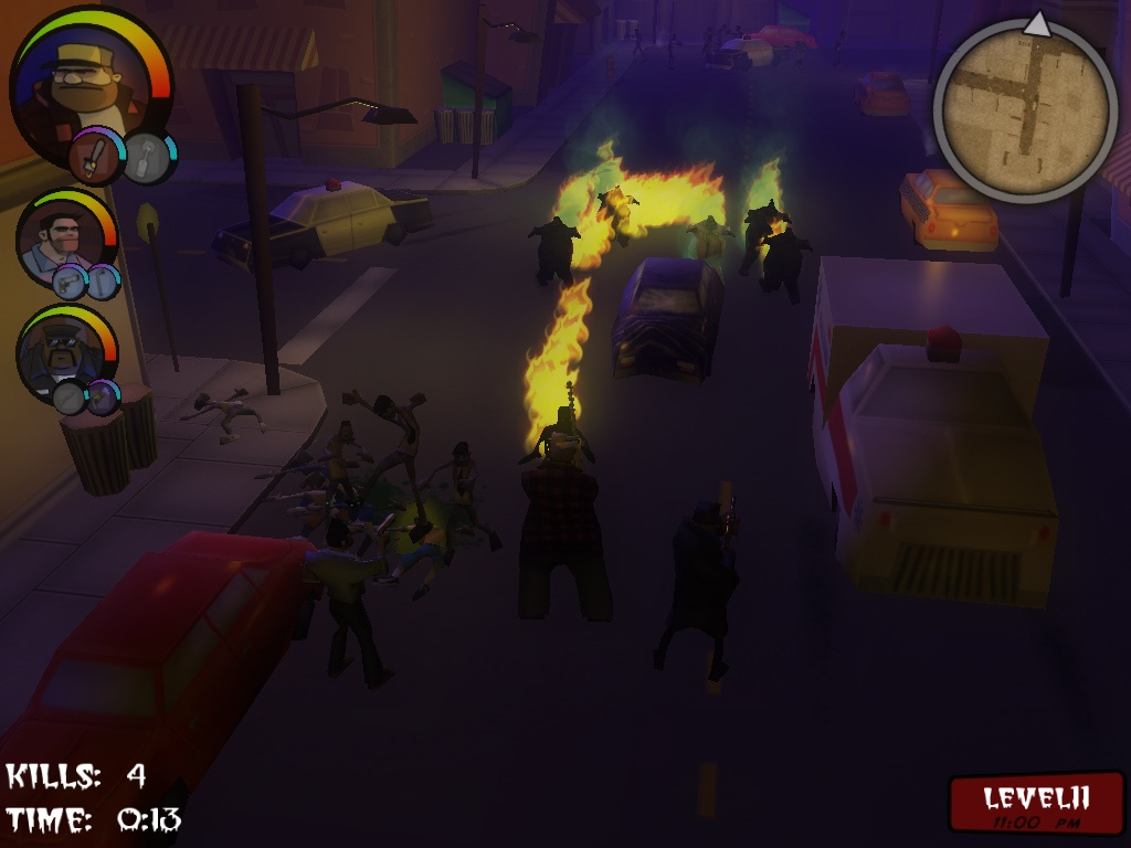 Pantallazo de NOMBZ: Night of a Million Billion Zombies para PC