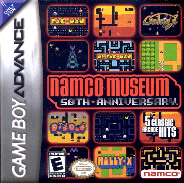 Caratula de Namco Museum 50th Anniversary Arcade Collection para Game Boy Advance