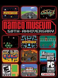 Caratula de Namco Museum 50th Anniversary Arcade Collection para PC