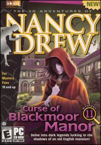 Caratula de Nancy Drew: Curse of Blackmoor Manor para PC