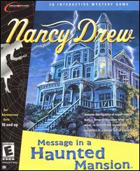 Caratula de Nancy Drew: Message in a Haunted Mansion para PC
