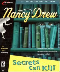 Caratula de Nancy Drew: Secrets Can Kill para PC