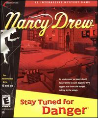 Caratula de Nancy Drew: Stay Tuned for Danger [2001] para PC