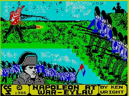 Pantallazo de Napoleon at War para Spectrum