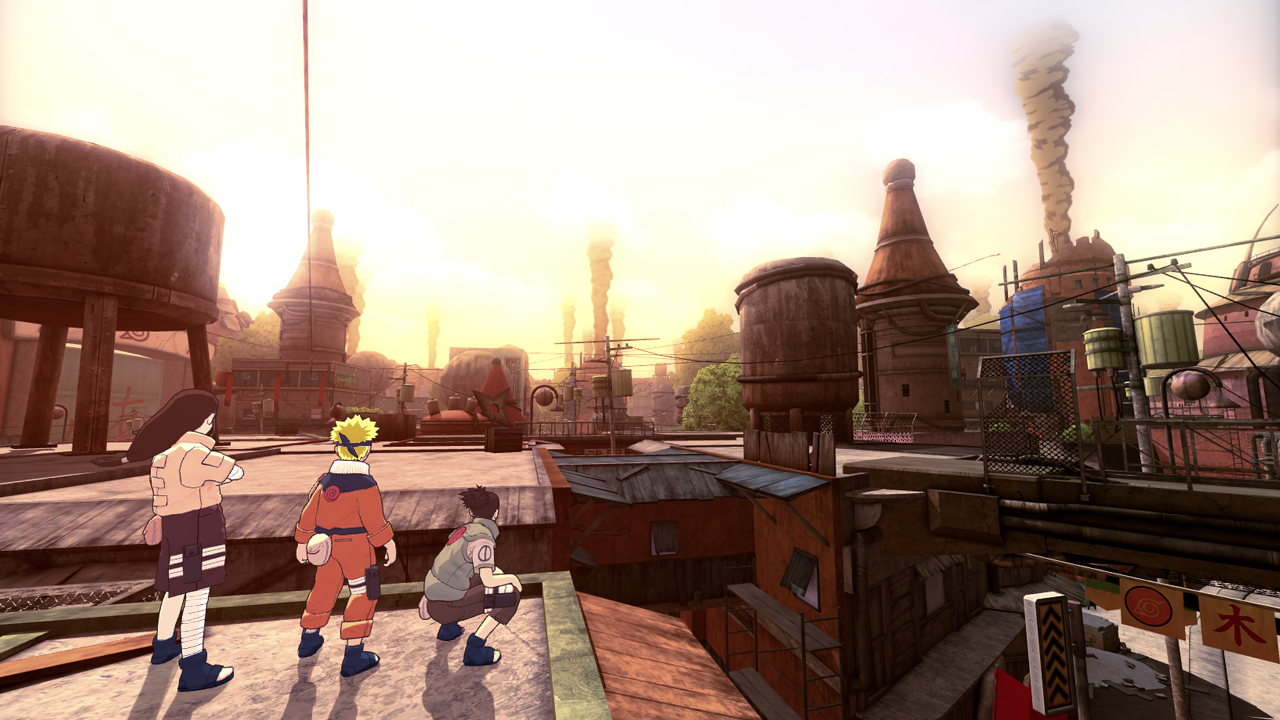 Pantallazo de Naruto: The Broken Bond para Xbox 360