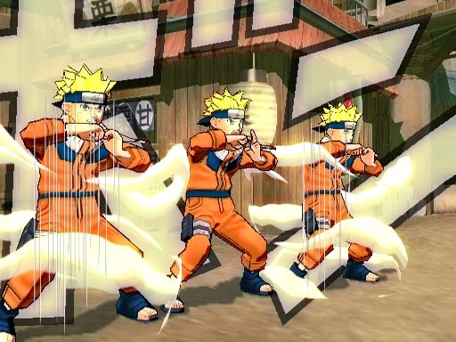 Pantallazo de Naruto: Ultimate Ninja 3 para PlayStation 2