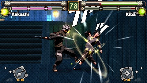 Pantallazo de Naruto: Ultimate Ninja Heroes 2: The Phantom Fortress para PSP