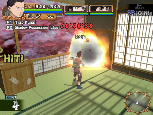 Pantallazo de Naruto: Uzumaki Chronicles 2 para PlayStation 2