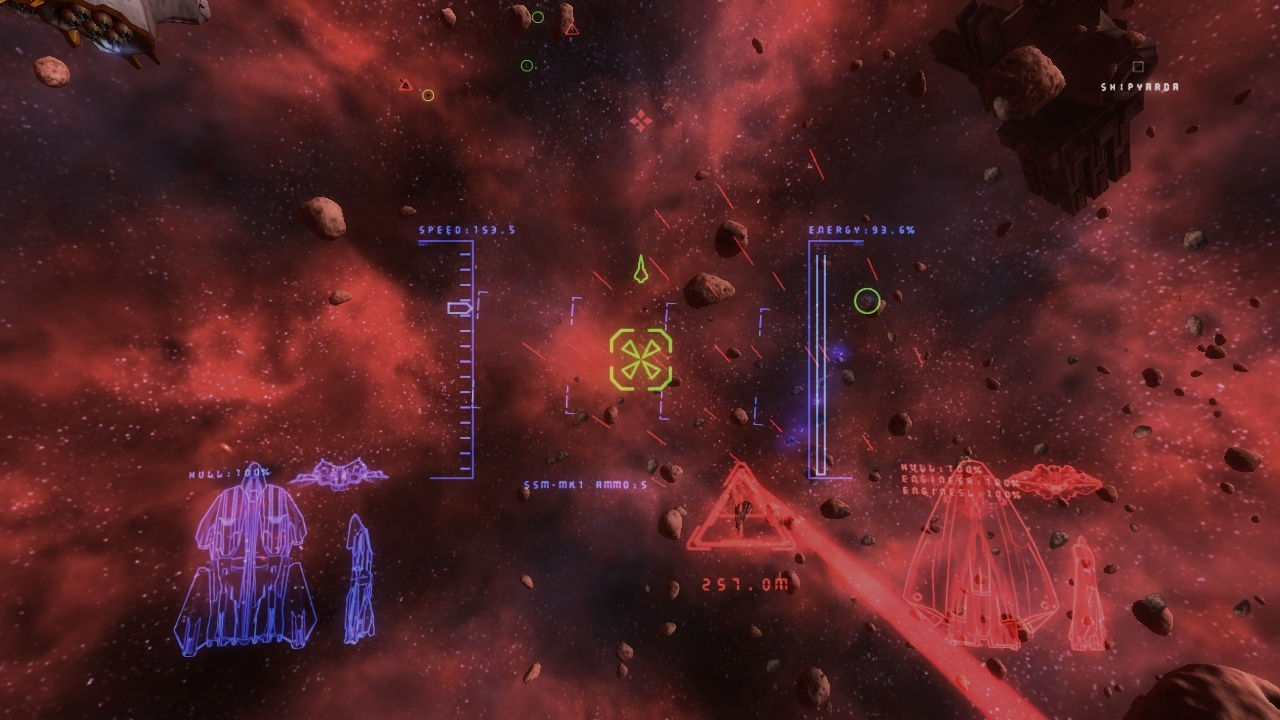 Pantallazo de Naumachia: Space Warfare para PC