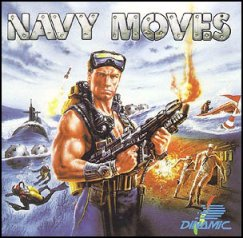 Caratula de Navy Moves para Commodore 64