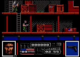 Pantallazo de Navy Seals, Cartridge para Amstrad CPC