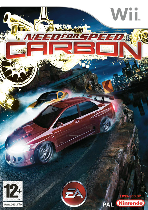 Caratula de Need for Speed: Carbon para Wii