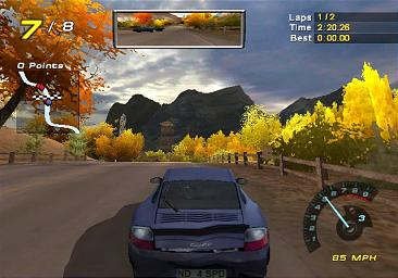 Pantallazo de Need for Speed: Hot Pursuit 2 para GameCube