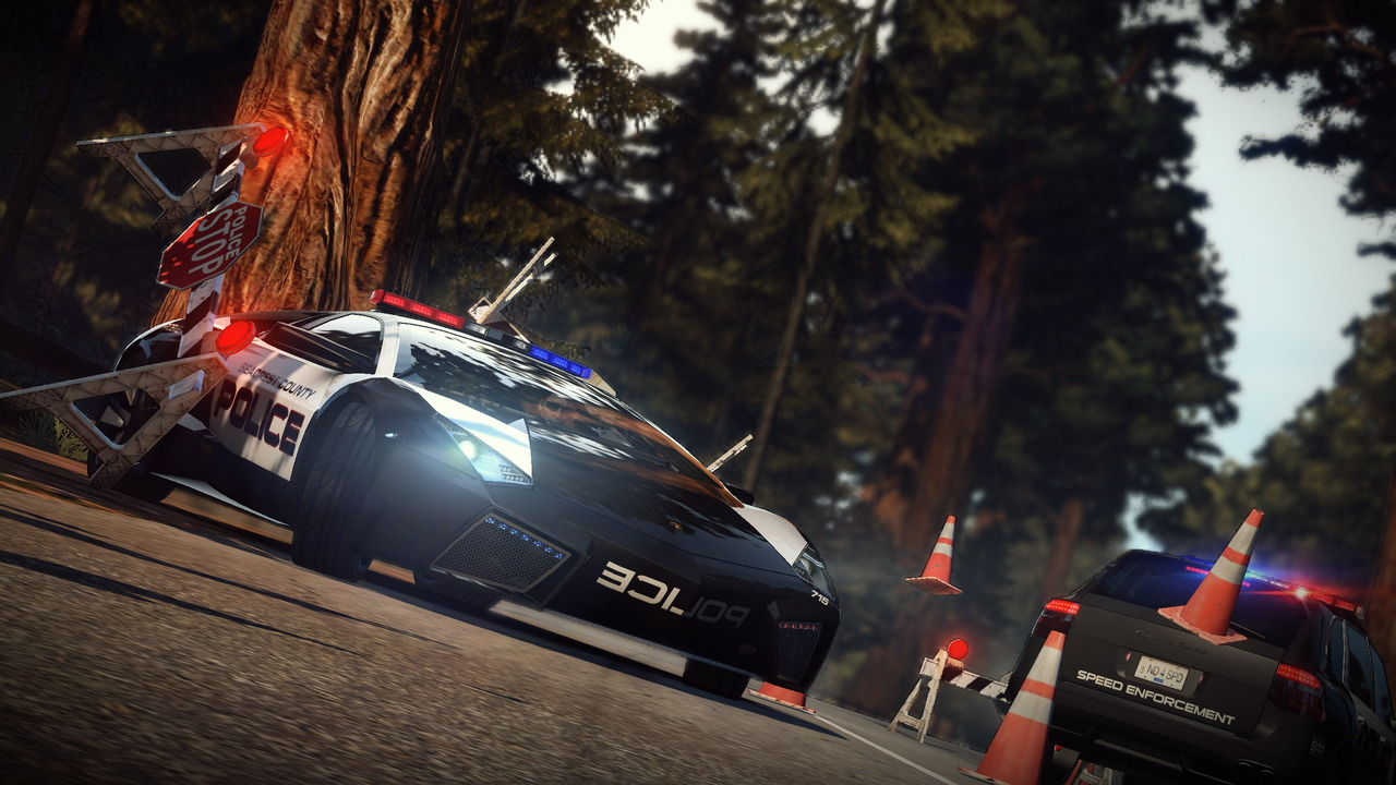 Need for speed hot pursuit pantallazo de pc a tamaño completo