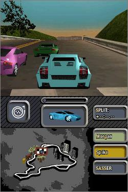 Pantallazo de Need for Speed: Most Wanted para Nintendo DS