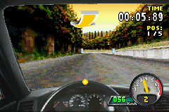 Pantallazo de Need for Speed: Porsche Unleashed para Game Boy Advance