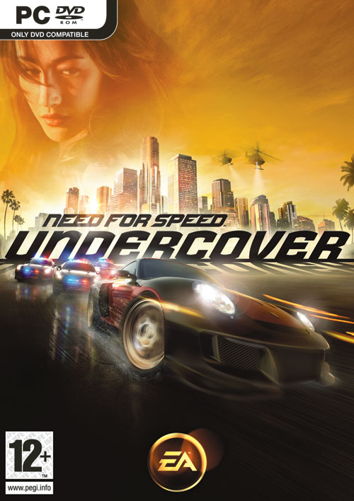 Caratula de Need for Speed: Undercover para PC