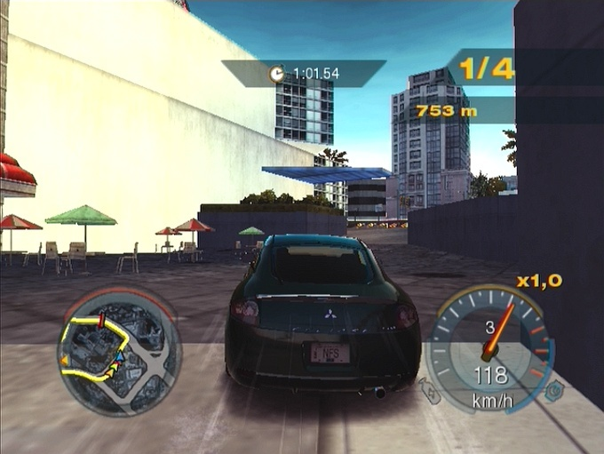 Pantallazo de Need for Speed: Undercover para PlayStation 2