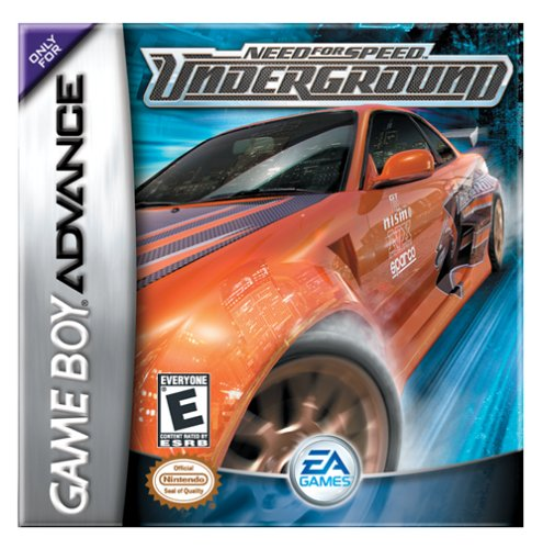 Caratula de Need for Speed: Underground para Game Boy Advance