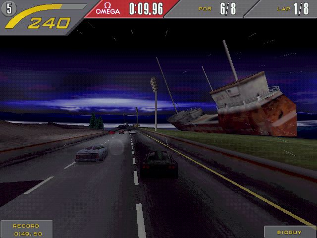 Pantallazo de Need for Speed II SE para PC
