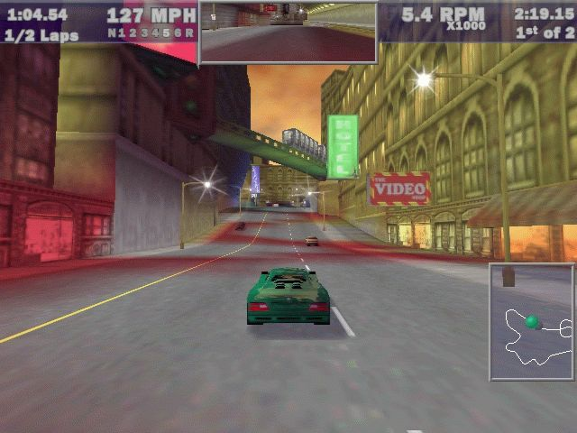 Pantallazo de Need for Speed III: Hot Pursuit para PC