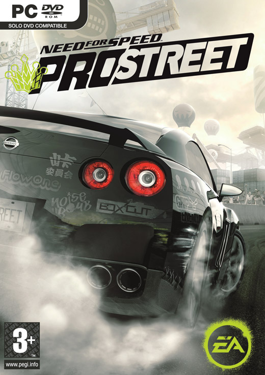 Caratula de Need for Speed ProStreet para PC