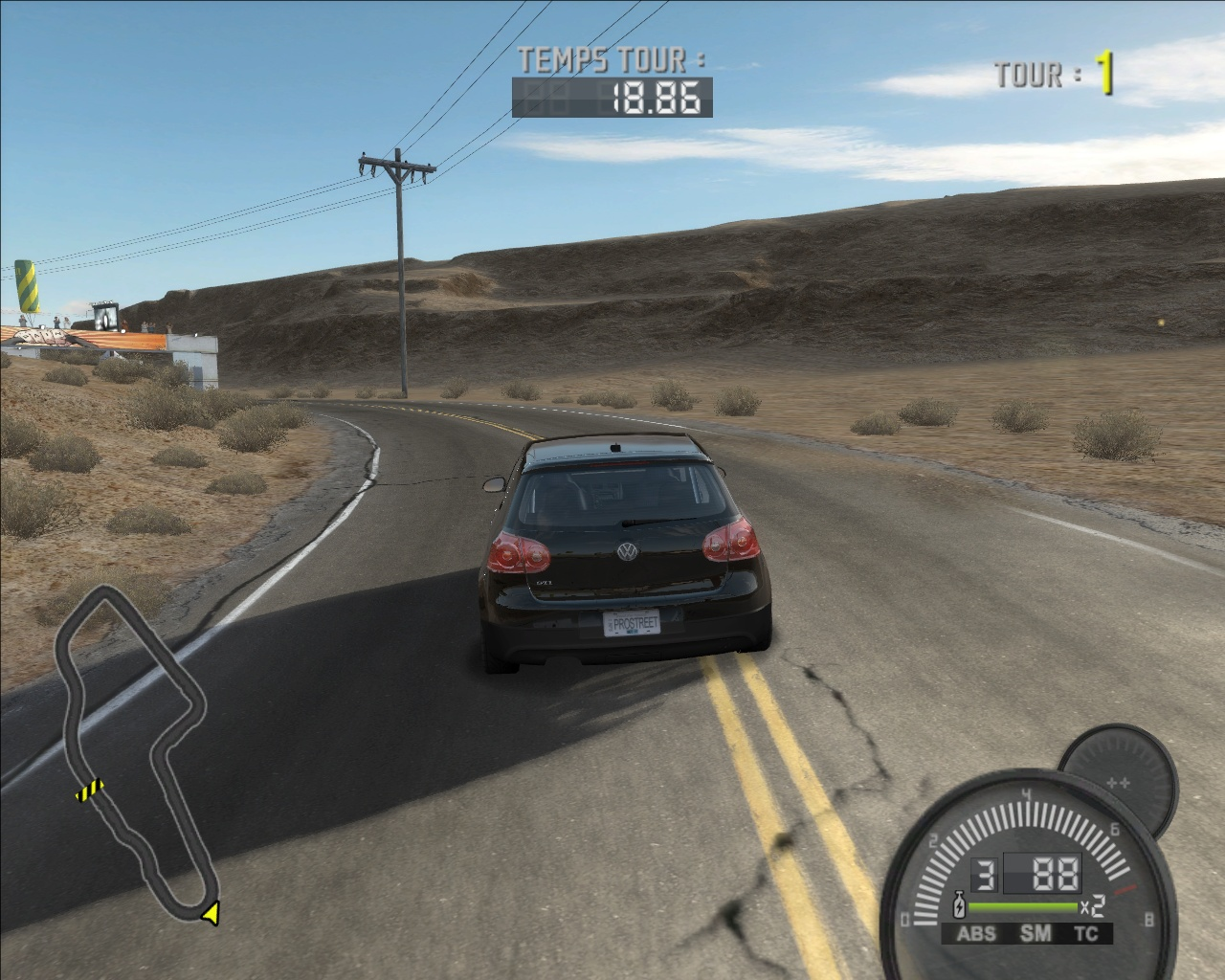 Pantallazo de Need for Speed ProStreet para PlayStation 2