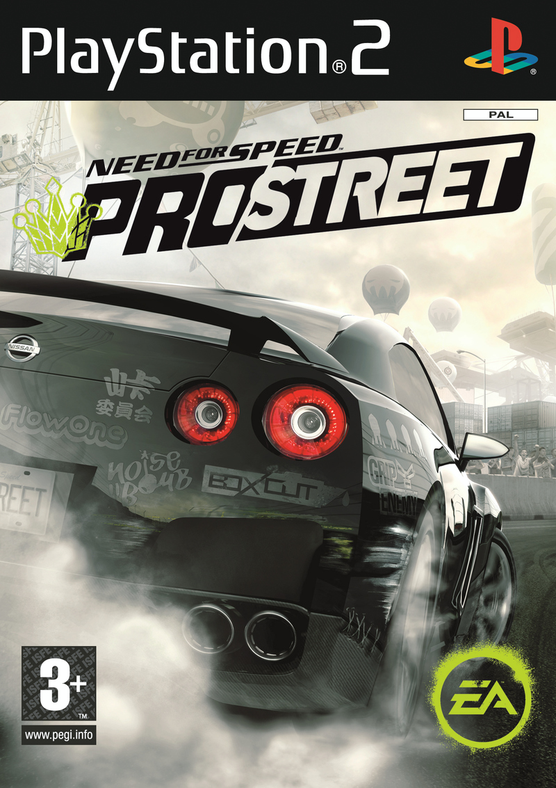 Caratula de Need for Speed ProStreet para PlayStation 2