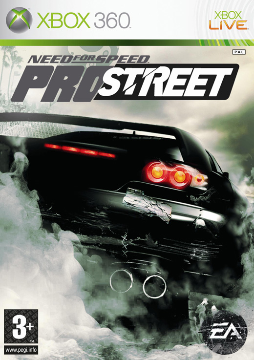 Caratula de Need for Speed ProStreet para Xbox 360