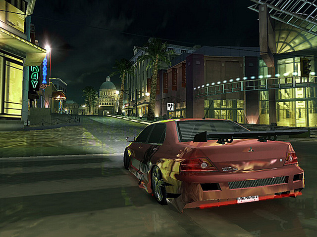 Pantallazo de Need for Speed Underground 2 para Xbox