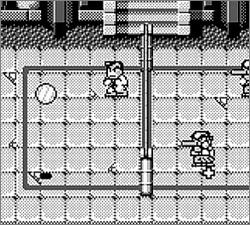Pantallazo de Nekketsu! Beach Volley Kunio Kun para Game Boy
