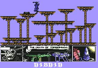 Pantallazo de Nemesis the Warlock para Commodore 64