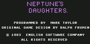 Pantallazo de Neptune´s Daughters para Commodore 64