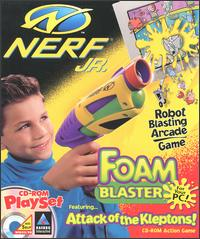 Caratula de Nerf Jr. Foam Blaster: Attack of the Kleptons! para PC