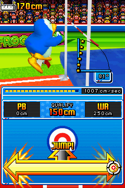 Pantallazo de New International Track and Field para Nintendo DS