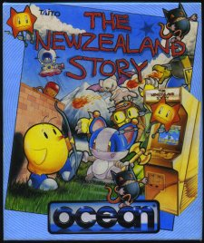 Caratula de New Zealand Story, The para Atari ST